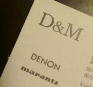 デノンさんのPRページに載ります!!